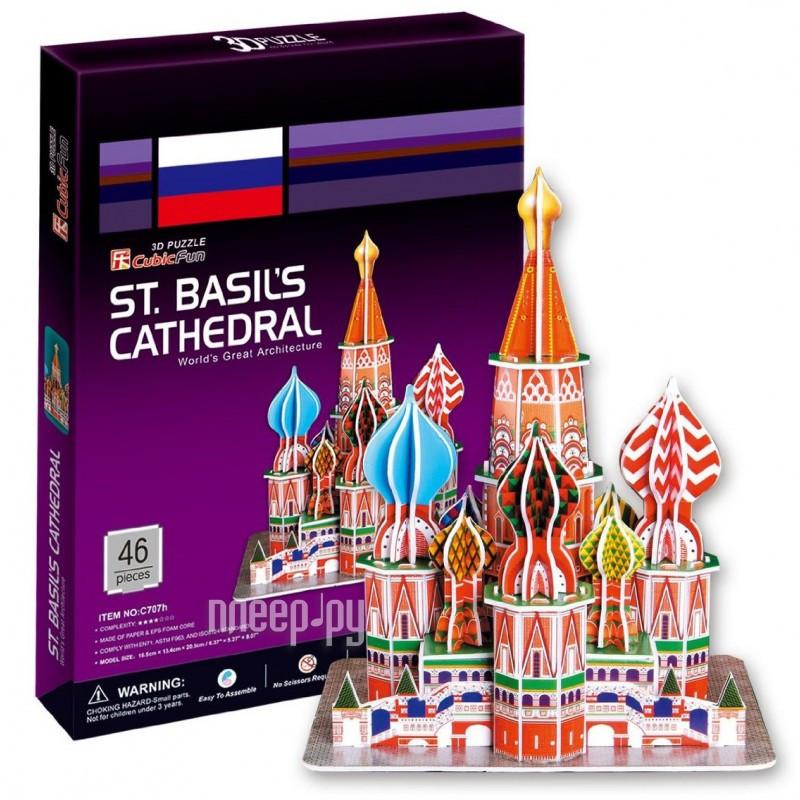 3D-пазл CubicFun Собор Василия Блаженного C707h