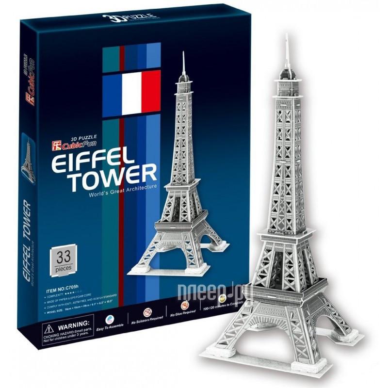 3D-пазл CubicFun Эйфелева Башня 2 C705h