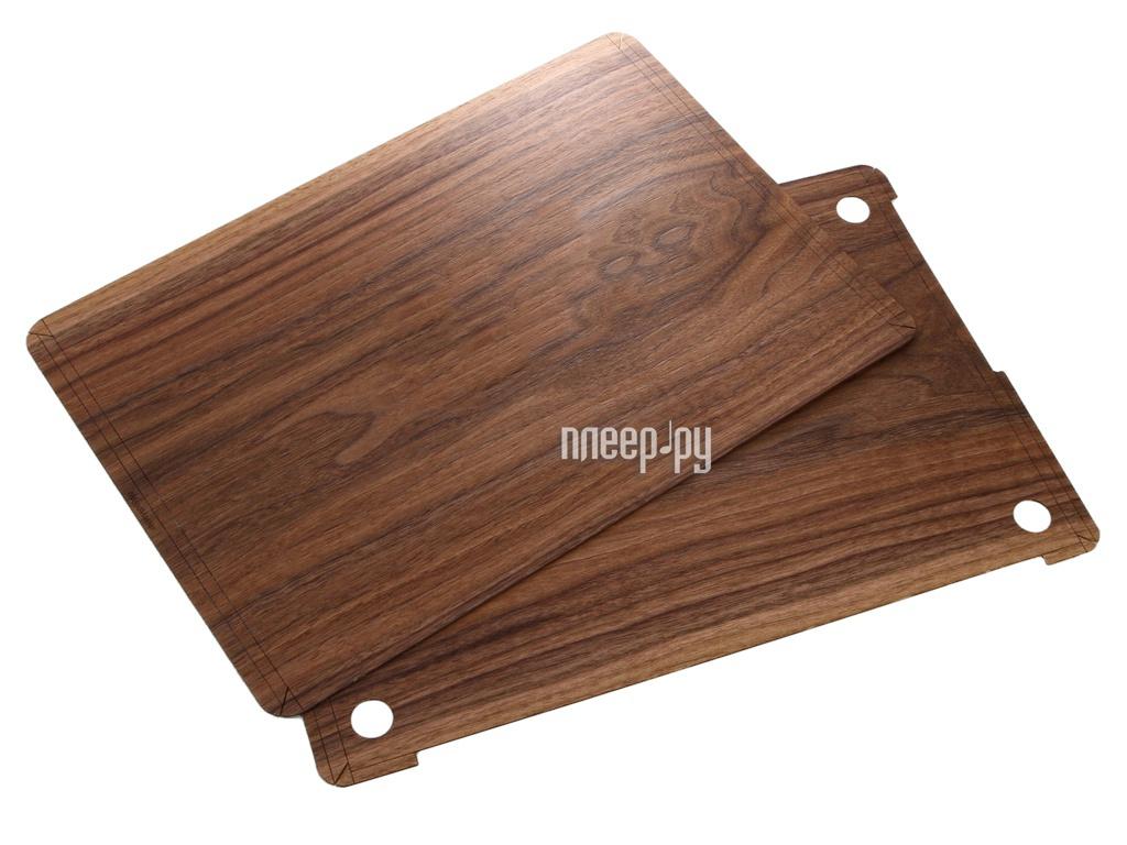 Аксессуар Чехол 15.0-inch iWoodMaster для APPLE MacBook Pro Retina MLH32 / MLH42 / MPTR2 / MPTT2 орех американский