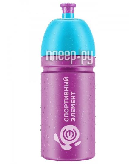 Бутылка Спортивный Элемент S24-500 500ml Purple-Blue