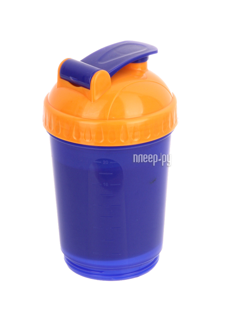 Шейкер Спортивный Элемент S18-600 600ml Violet-Orange