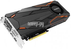 Купить Видеокарта GigaByte GeForce GTX 1080 Turbo 1657Mhz PCI-E 3.0 8192Mb 10010Mhz 256 bit DVI HDMI HDCP GV-N1080TTOC-8GD