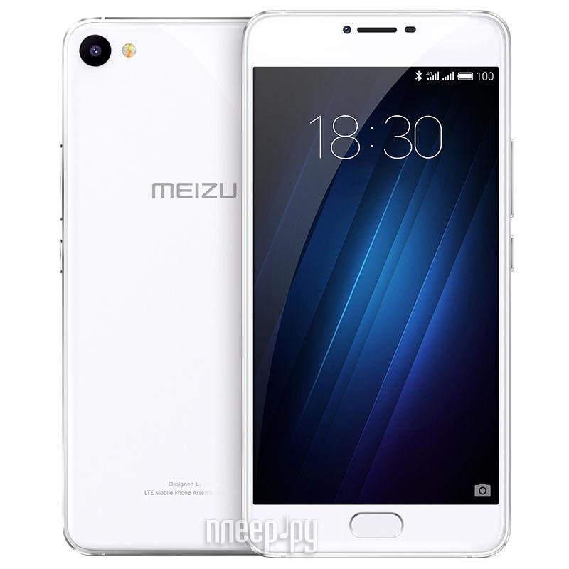 Сотовый телефон Meizu U10 32Gb Silver