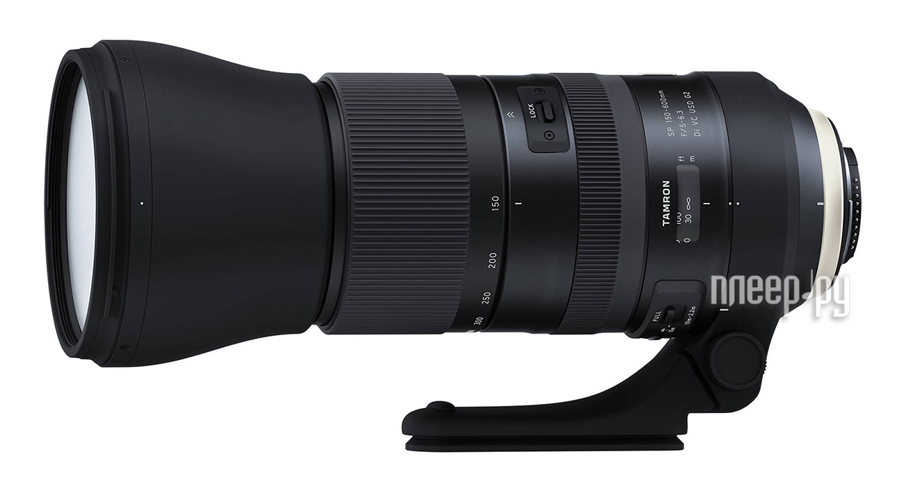 Объектив Tamron Nikon AF SP 150-600 mm F/5-6.3 Di VC USD G2 A022N