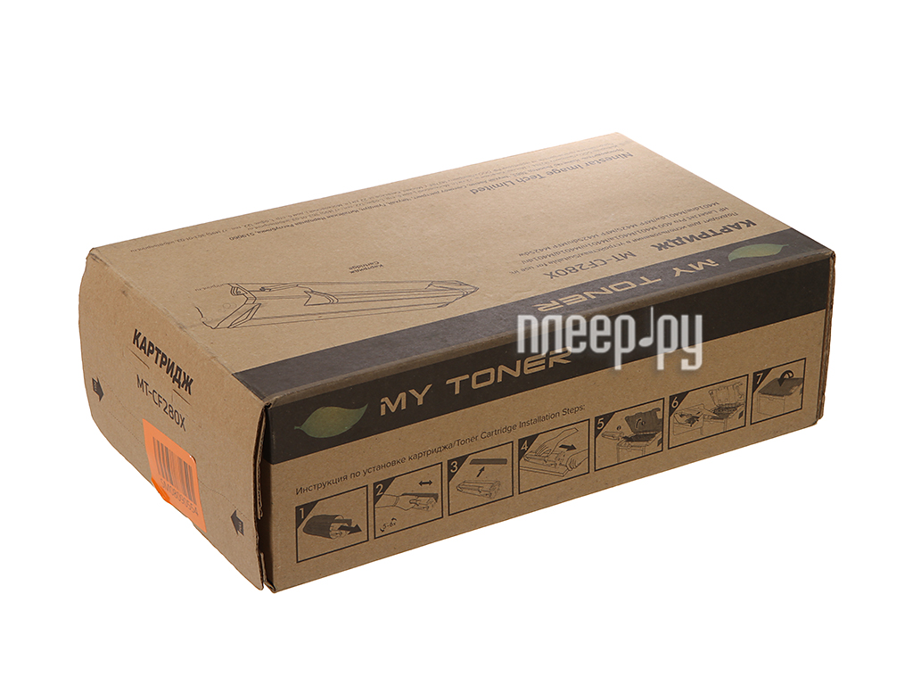 Картридж MyToner MT-CF280X Black для HP LJ Pro 400 / M401 / M425