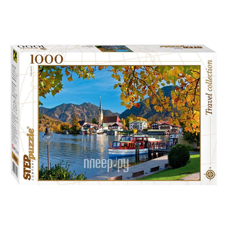 3D-пазл Step Puzzle Travel Collection Бавария. Озеро Тегернзее 79104