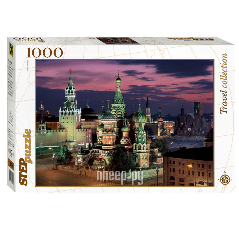3D-пазл Step Puzzle Travel Collection Красная площадь. Москва 79075