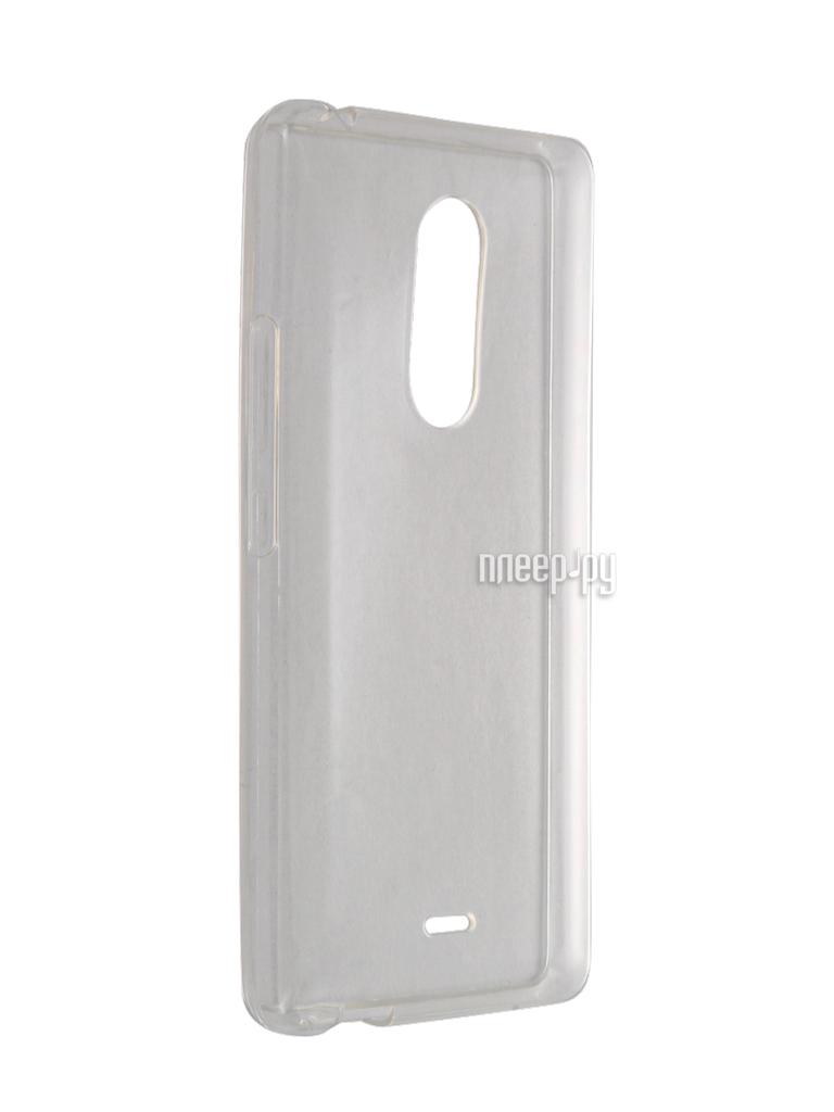 Аксессуар Чехол BQ BQS-5050 Strike Selfie Gecko Transparent S-G-BQS5050-WH