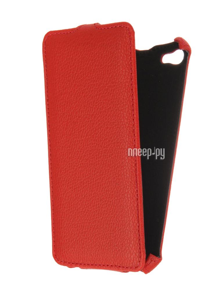 Аксессуар Чехол Meizu U20 Gecko Red GG-F-MEIU20-RED