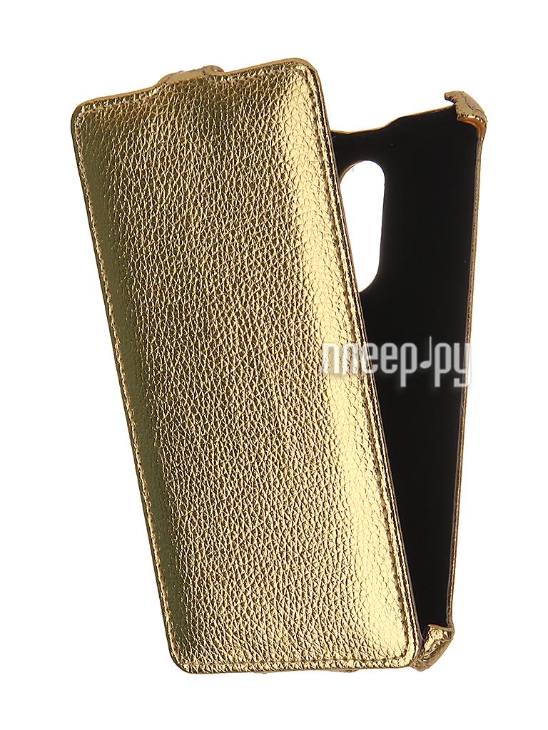 Аксессуар Чехол Xiaomi Redmi Pro Gecko Gold GG-F-XMRPRO-GOLD