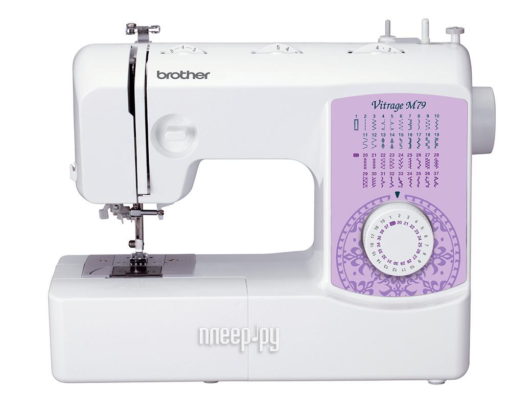 Швейная машинка Brother Vitrage M79