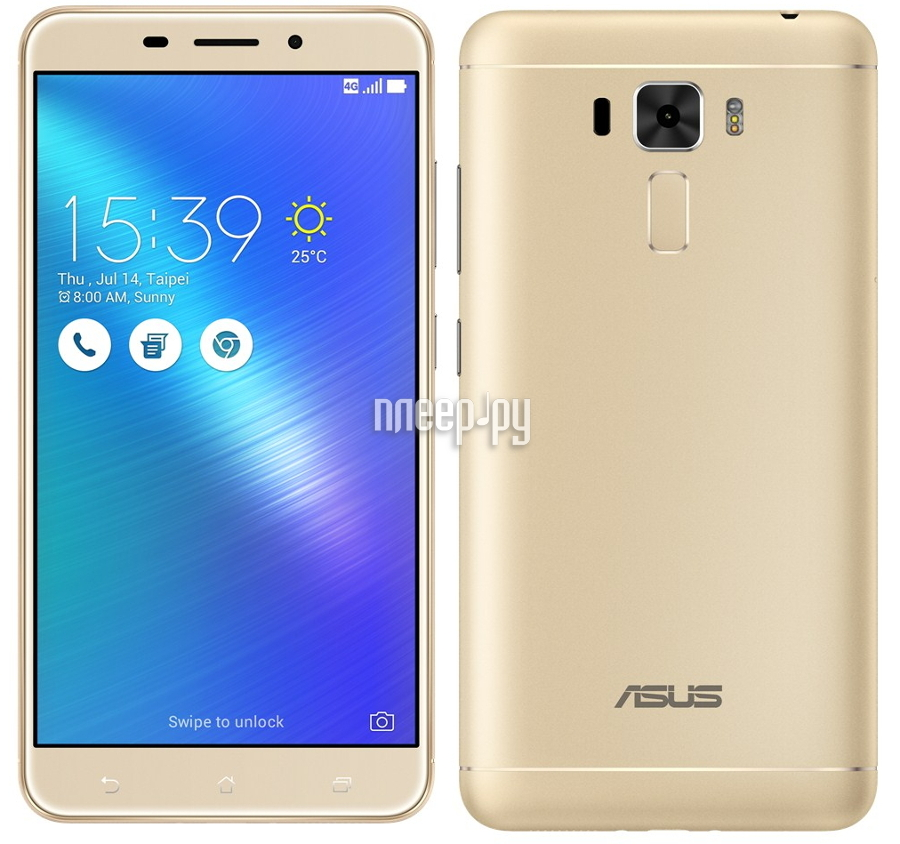 Сотовый телефон ASUS ZenFone 3 Laser ZC551KL 32Gb Gold