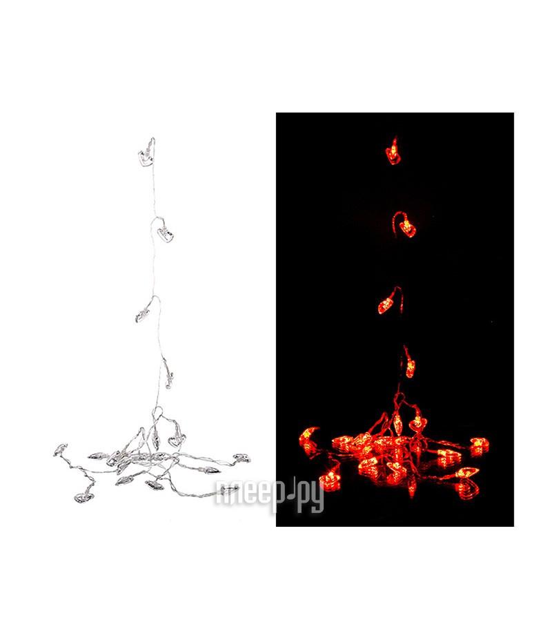Гирлянда Lefard 40 LED 6m 220V Red 857-004