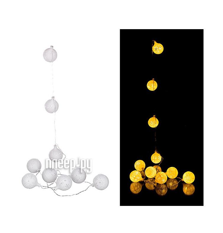 Гирлянда Lefard 10 LED 2m Warm White 857-002 купить