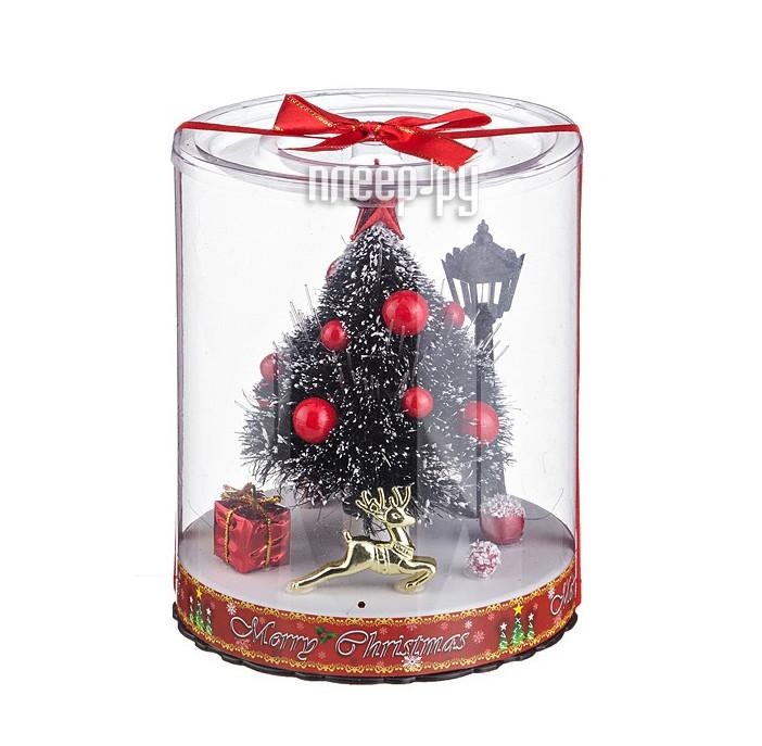 Новогодний сувенир Lefard Елочка с подсветкой 16.5cm 161-105