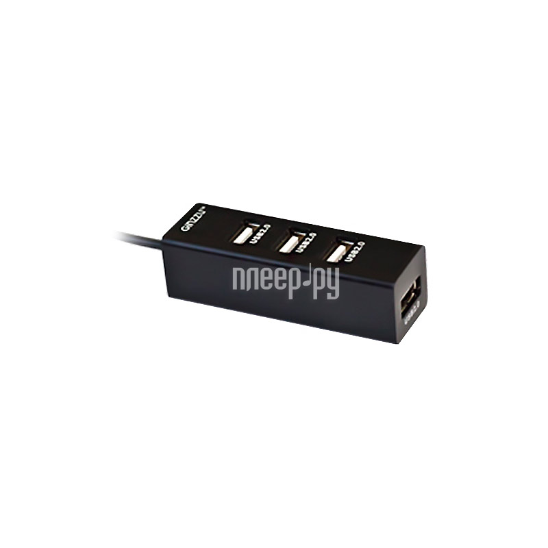 Хаб USB Ginzzu GR-474UB 4-ports