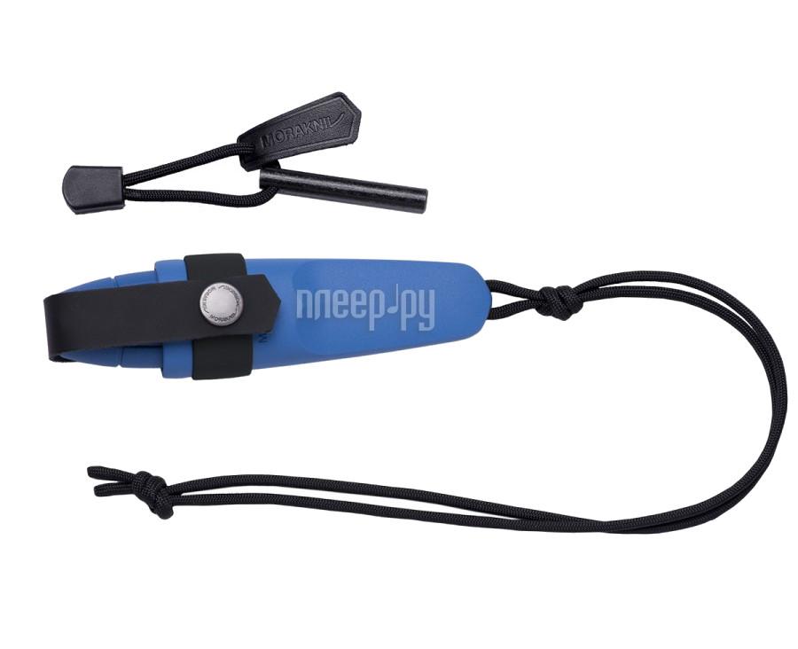 Нож Morakniv Eldris 12631 Blue шнурок, огниво - длина лезвия 58мм