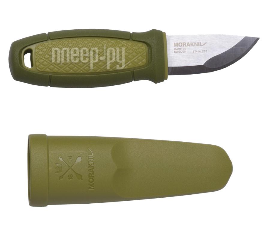 Нож Morakniv Eldris 12651 Green - длина лезвия 58мм