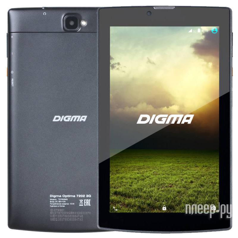 Планшет Digma Optima 7202 3G TS7055MG (MT8321 1.3 GHz / 1024Mb / 8Gb / Wi-Fi / 3G / Bluetooth / Cam / 7.0 / 1024x600 / Android) 379881