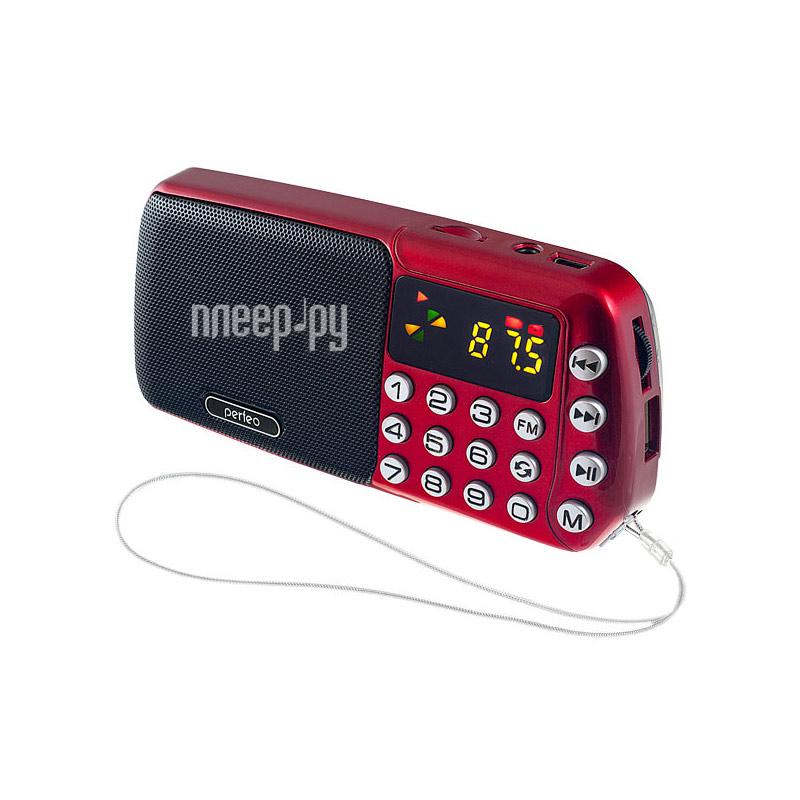 Радиоприемник Perfeo i70 Red