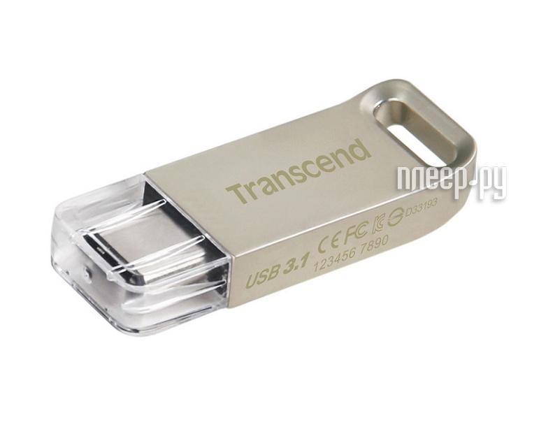 USB Flash Drive 16Gb - Transcend JetFlash 850S Silver TS16GJF850S