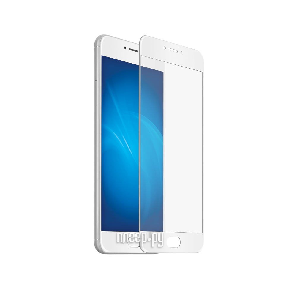 Аксессуар Защитное стекло Meizu U20 CaseGuru Full Screen 0.33mm White 87625