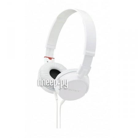 Наушники Sony MDR-ZX100 White  Pleer.ru  488.000
