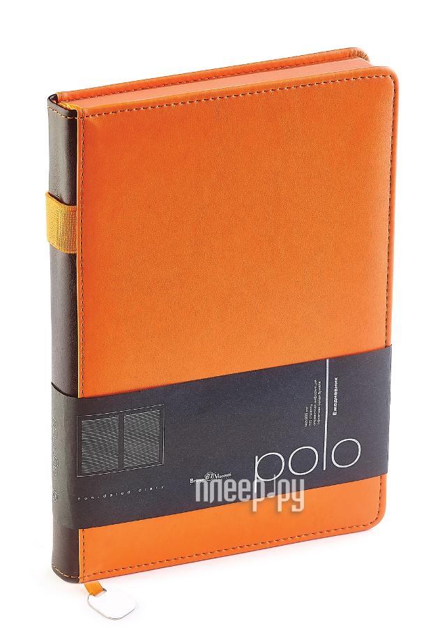 Ежедневник Bruno Visconti Polo A5 Orange 3-515/04