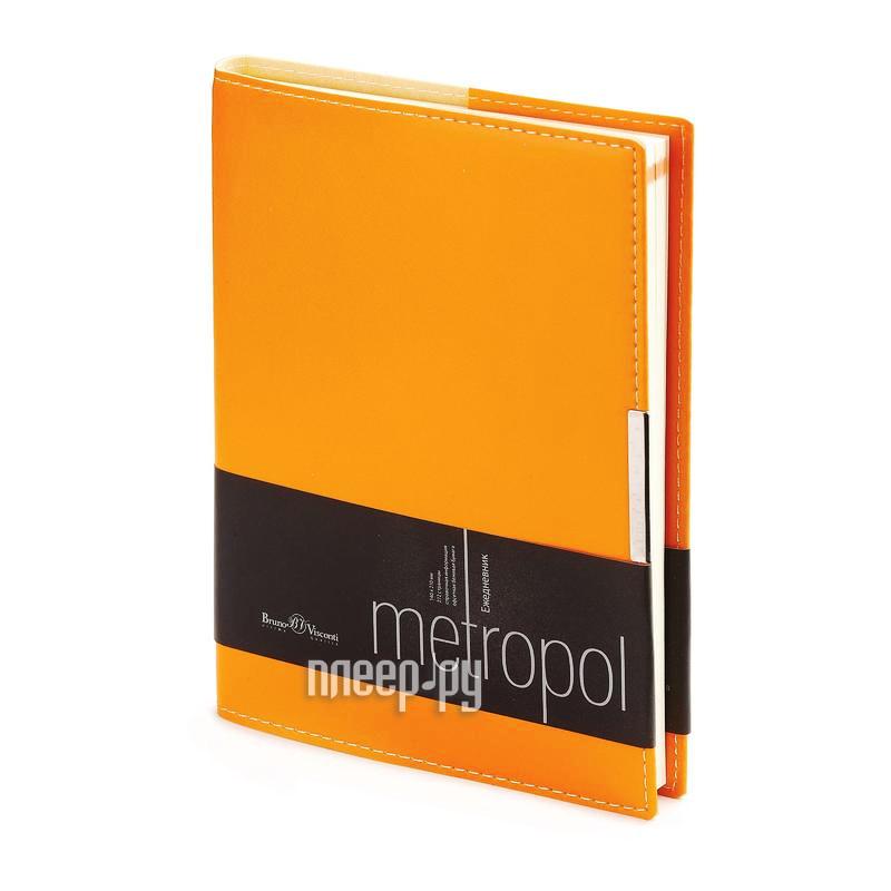 Ежедневник Bruno Visconti Metropol A5 Orange 3-491/04