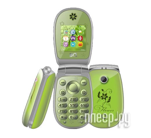 Сотовый телефон BQ BQM-1410 Flower Green