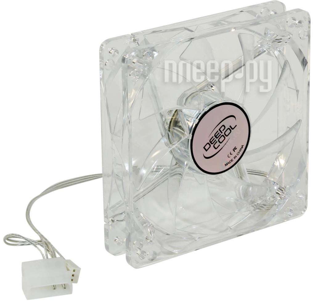Вентилятор DeepCool XFAN 120L/B 120mm DP-FLED-XF120LB