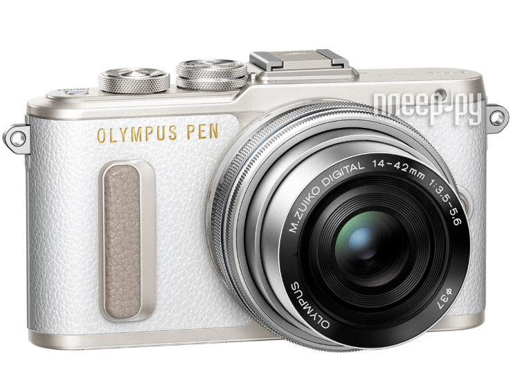 Фотоаппарат Olympus PEN E-PL8 Kit 14-42 mm EZ-M1442EZ White-Silver