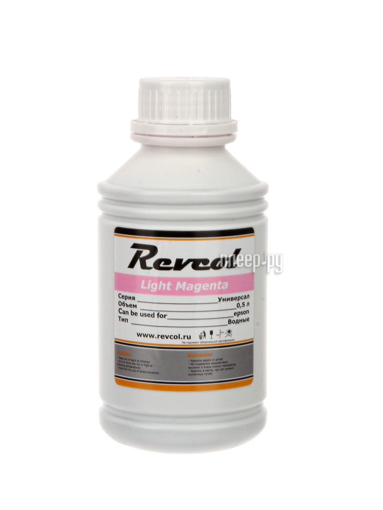 Тонер Revcol Универсал для HP/Canon 100ml Black Pigment