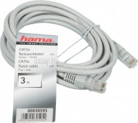 ��������� Hama Patch Cord CAT-5e UTP (RJ45) H-30595 3m