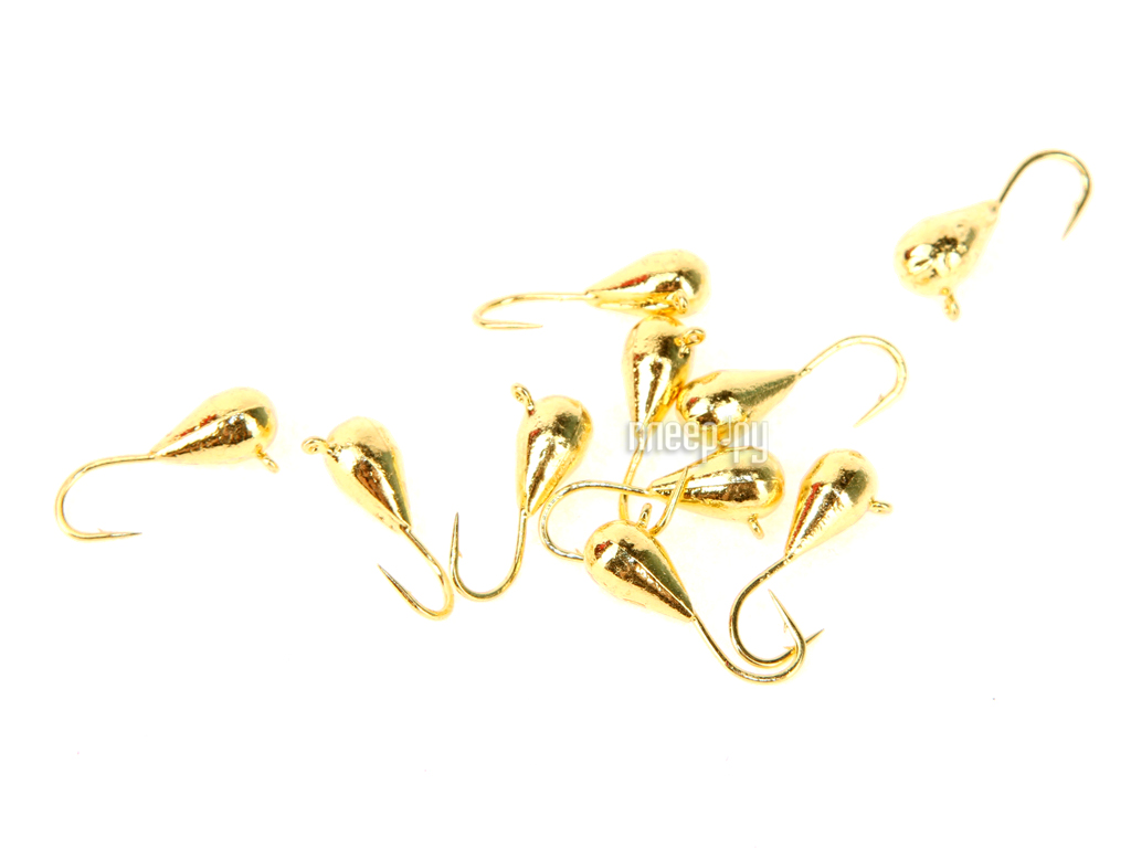 Аксессуар DIXXON капля с ушком d4 Gold 10шт 1140G
