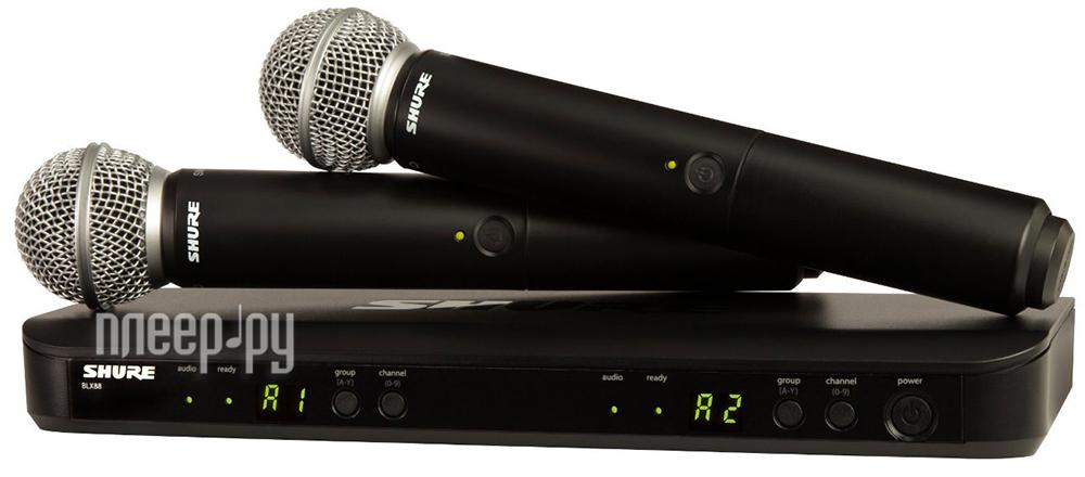 Радиосистема SHURE BLX288E / SM58