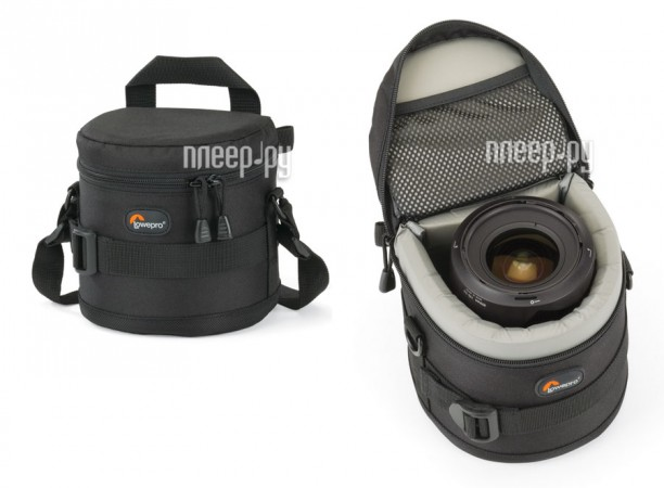 Футляр LowePro Lens Case 11x11cm  Pleer.ru  1135.000