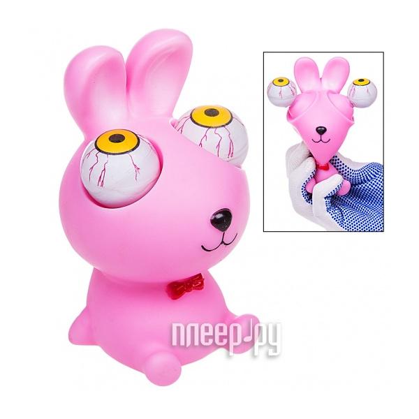 Игрушка антистресс Foshan! Лупоглазы Кролик Pink