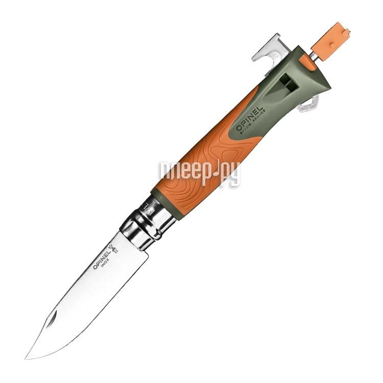 Нож Opinel №12 Explore Orange 001974 - длина лезвия 100мм