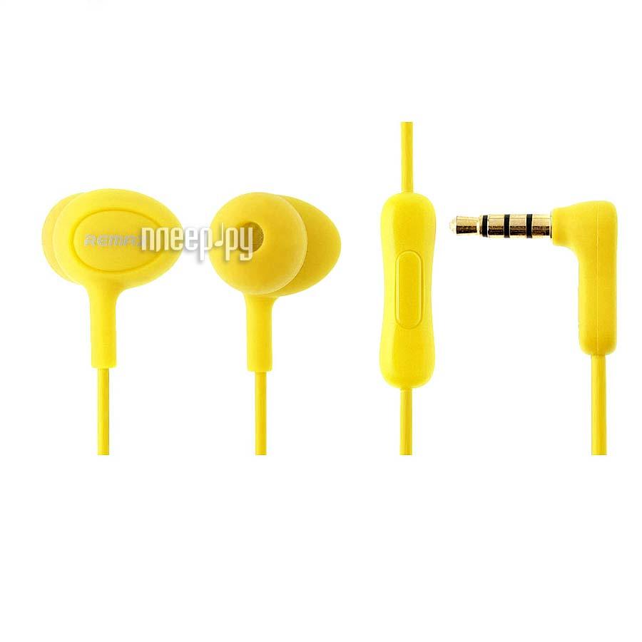 Гарнитура Remax RM-515 Yellow 08758