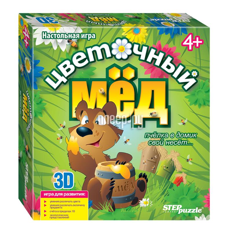 Настольная игра Step Puzzle Цветочный мёд 76552