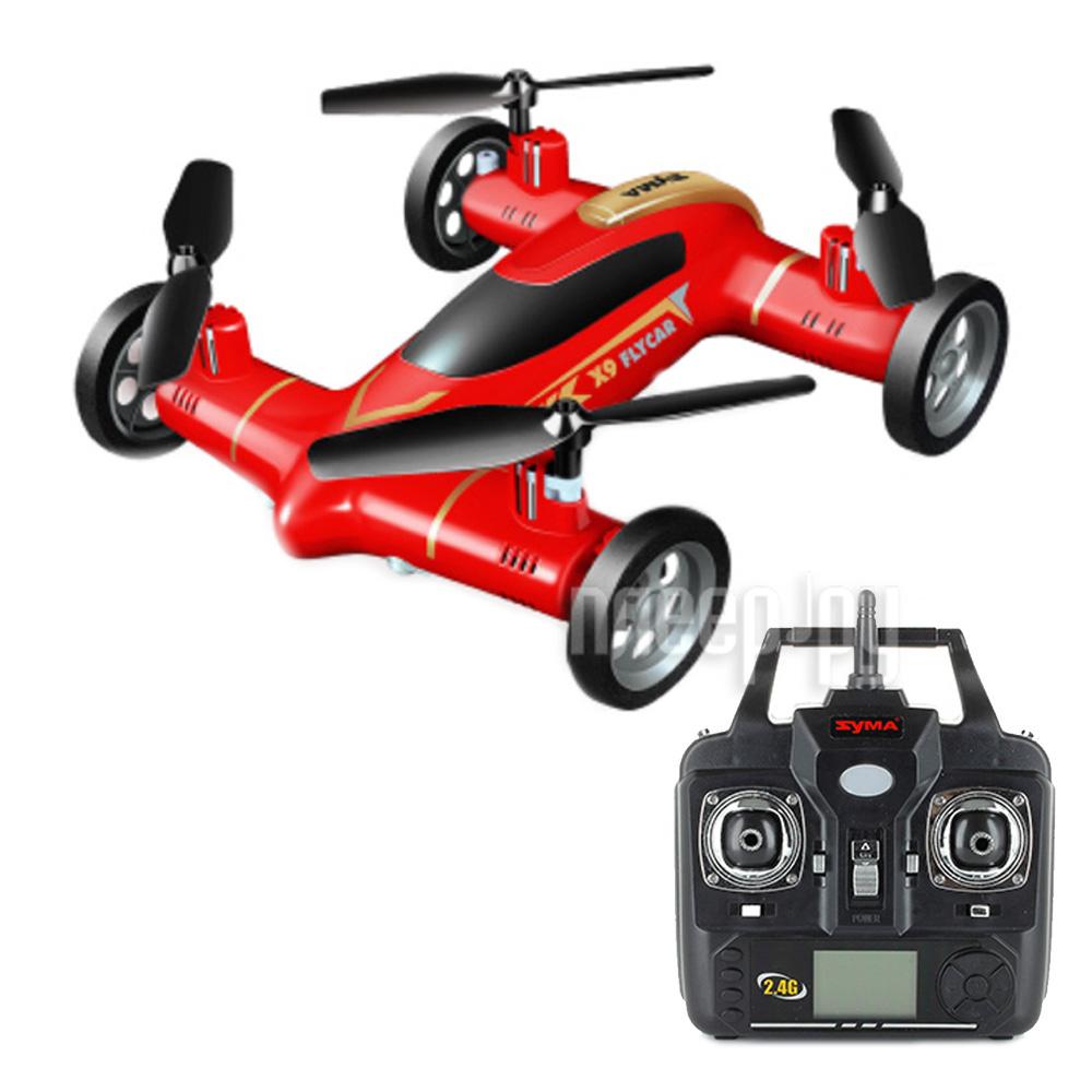 Квадрокоптер Syma X9S Flying Car Red