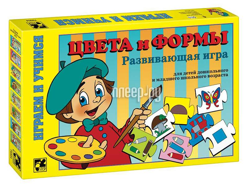 Настольная игра Step Puzzle Цвета и формы 76004 за 138 рублей