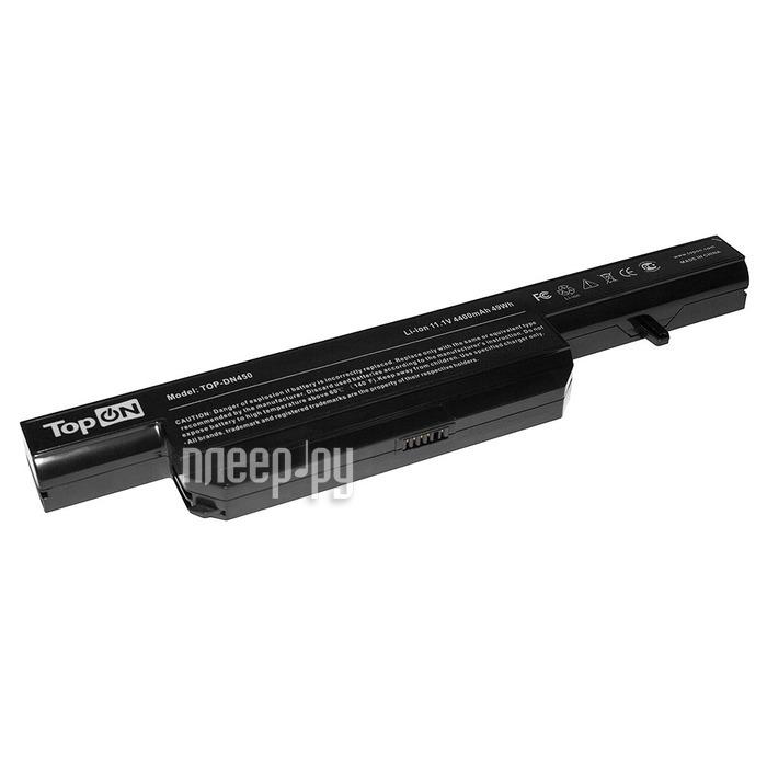 Аккумулятор TopON TOP-DN450 11.1V 4400mAh Black для DNS C4500BAT-6 0162456