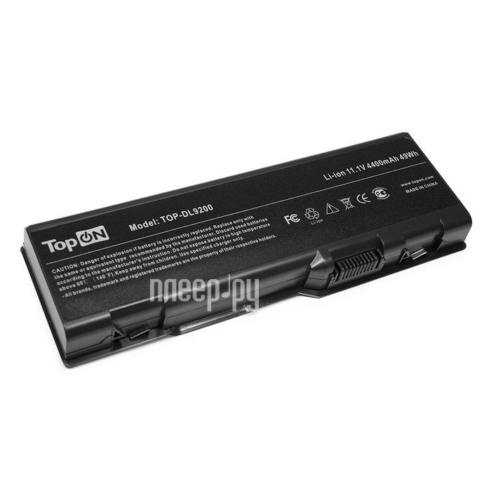 Аккумулятор TopON TOP-DL9200 11.1V 4400mAh для Dell Inspiron 6000/9200/9300/9400/E1705/XPS Gen 2/XPS M170/XPS M1710/Precision M6300