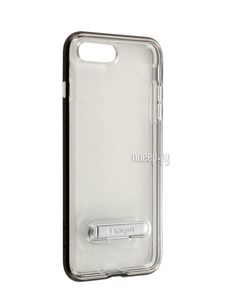 Аксессуар Чехол Spigen SGP Crystal Hybrid для APPLE iPhone 7 Plus Steel 043CS20508