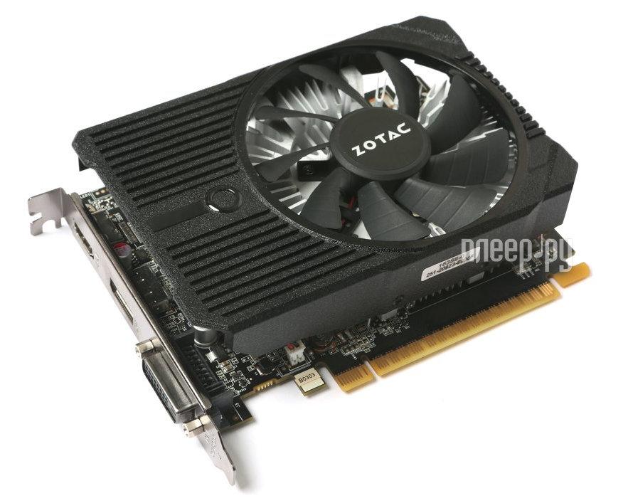 Видеокарта Zotac GeForce GeForce GTX 1050 Mini 1354MHz PCI-E 3.0 2048Mb 7000Mhz 128 bit DVI HDMI HDCP ZT-P10500A-10L