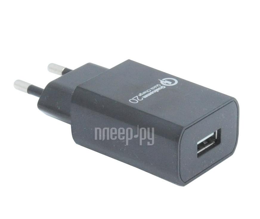Зарядное устройство Hentington Qualcomm Quick Charge 2.0 USB 2100 mA HC-2220