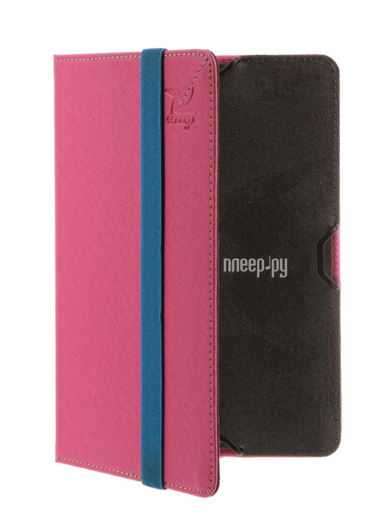 Аксессуар Чехол for PocketBook 614/615/624/625/626/640 Snoogy иск.кожа Pink SN-PB6X-PINK-LTH