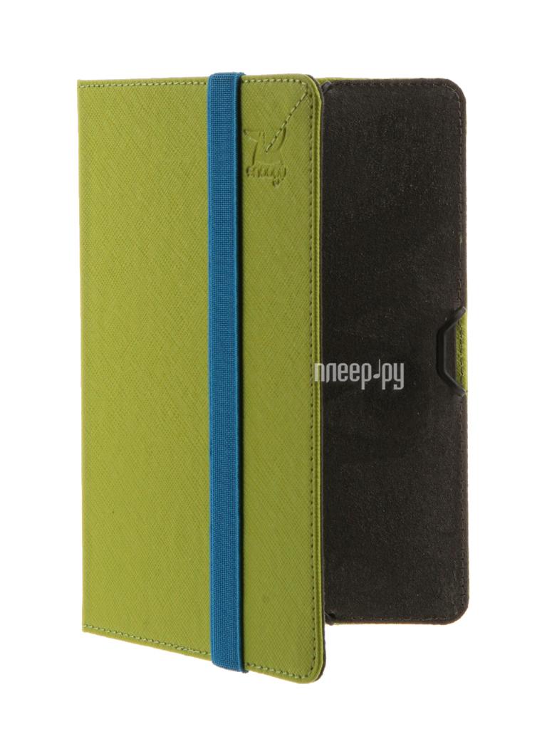 Аксессуар Чехол for PocketBook 614/615/624/625/626/640 Snoogy иск.кожа Green SN-PB6X-GRN-LTH